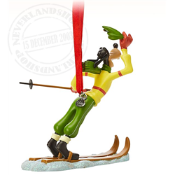 8957 3D Ornament Skiien - Goofy