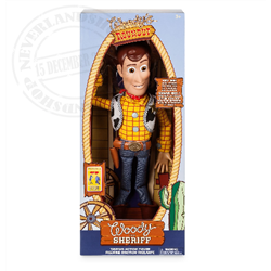 Interactive Talkiing Action Doll - Woody