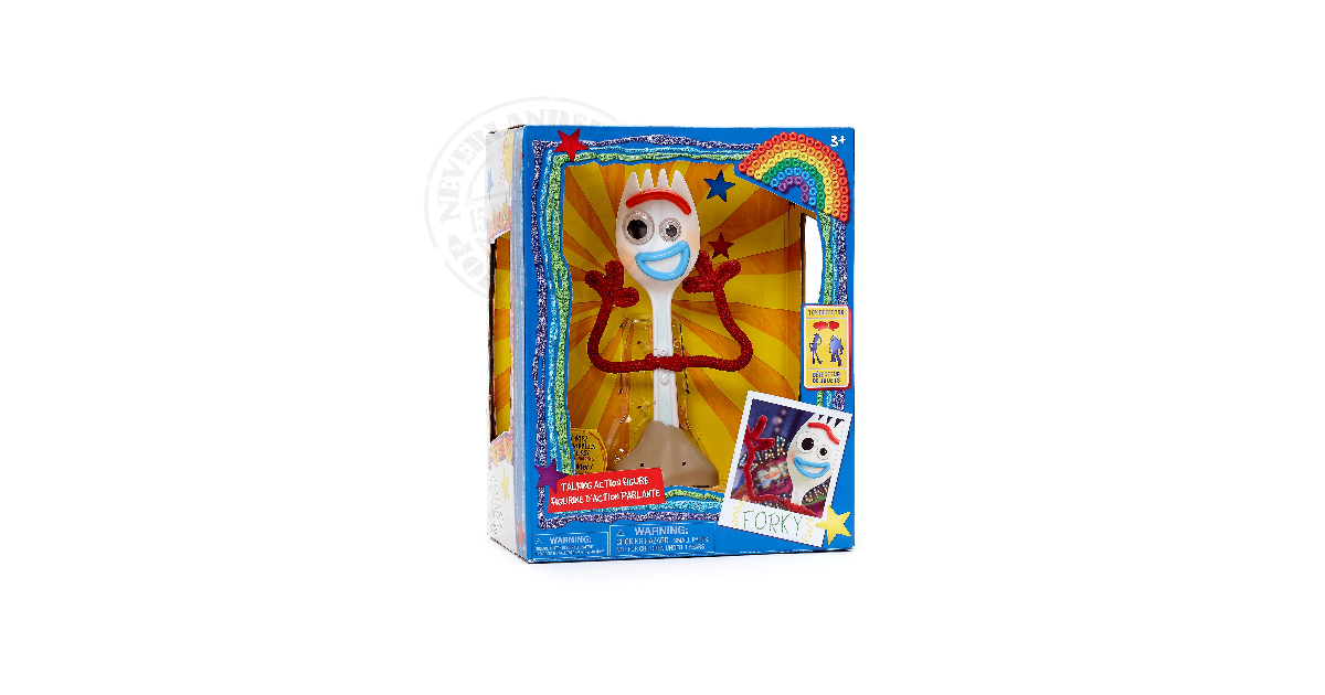 Interactive Talkiing Action Doll - Forky