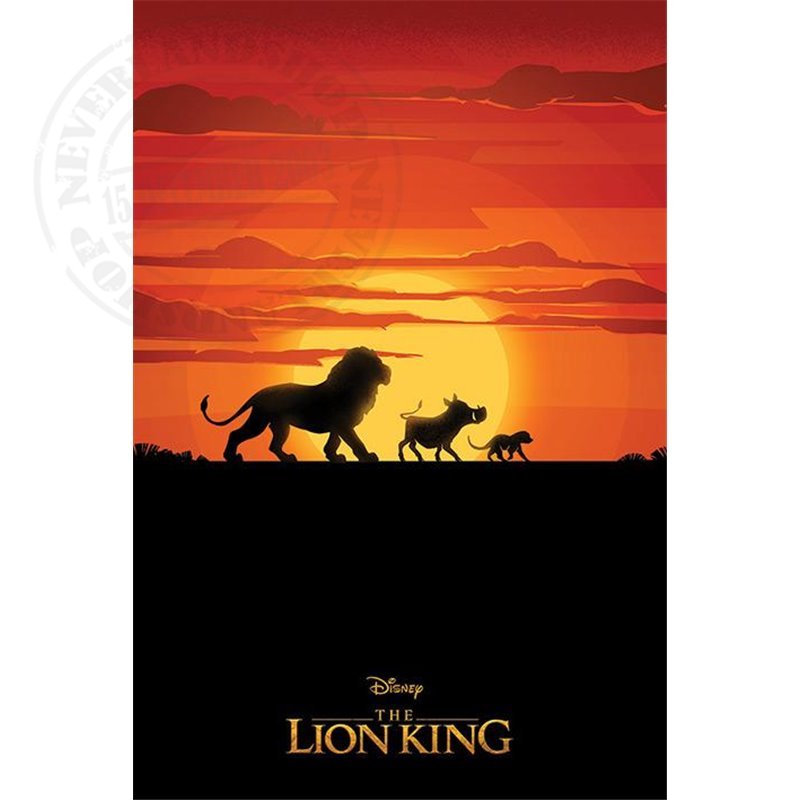 Long Live the King Poster- The Lion King