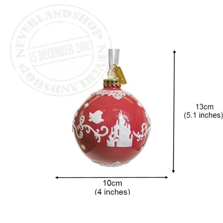 Red/White  Ceramic Ornament - The Little Mermaid