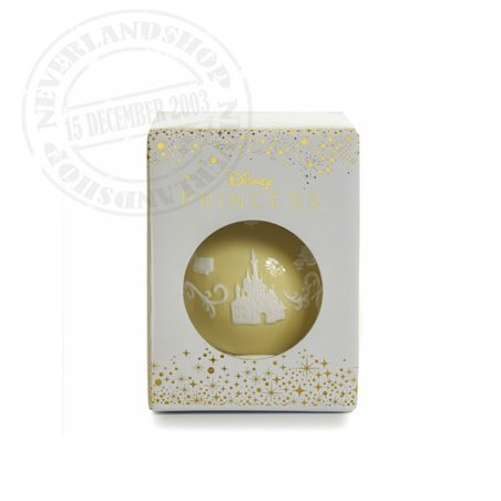 Yellow/White  Ceramic Ornament - Beauty & the Beast