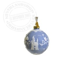 Blue/White  Ceramic Ornament - Cinderella