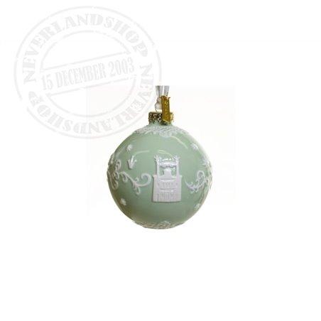 Green/White Ceramic Ornament - Princess & the Frog