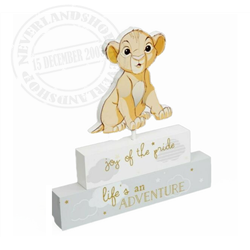 Magical Beginnings Mantel Block - Simba