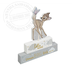 Magical Beginnings Mantel Block - Bambi