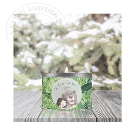 Vegetal Scented Candle - Jungle Book