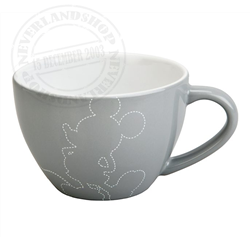 Silhouette Grey Bowl - Mickey