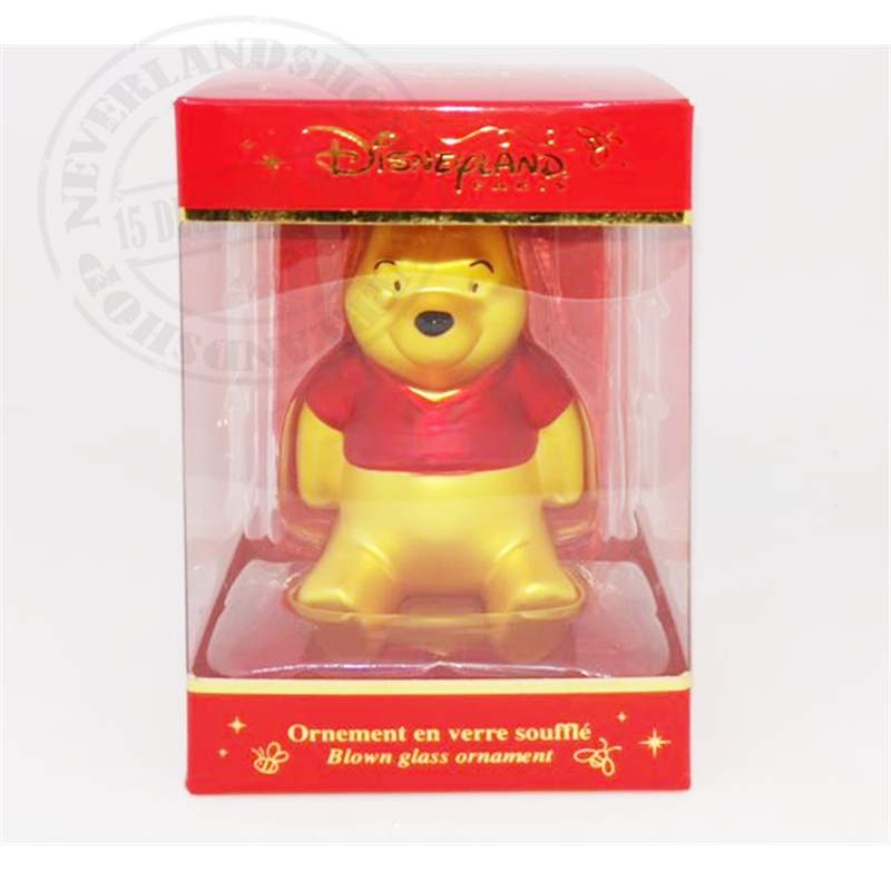 Glas Ornament - Pooh