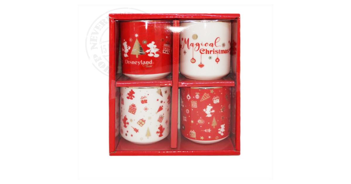 Magical Christmas 4 Espresso - Mickey & Minnie