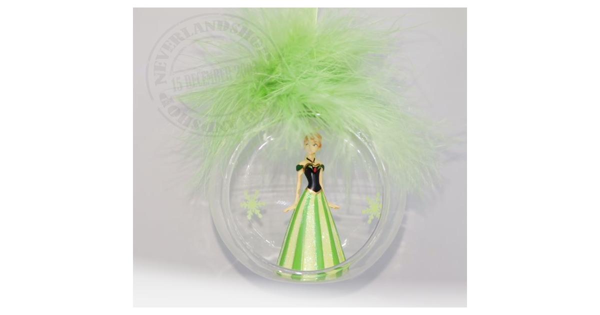 8980 3D Ornament  in Open Glazen Bal - Anna