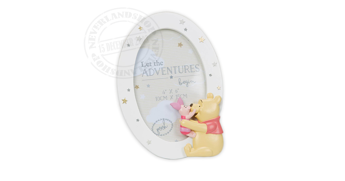 Magical Beginnings Frame - Pooh & Piglet