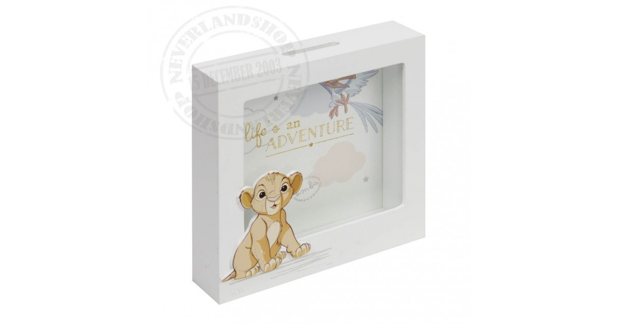 Magical Beginnings Money Box - Simba