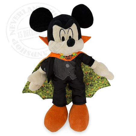 DisneyStore Halloween Dracula Plush - Mickey