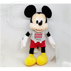 DisneyStore Plush Party Mouse - Mickey
