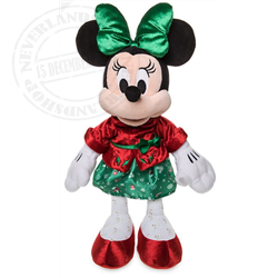 DisneyStore Plush Holiday Cheer - Minnie