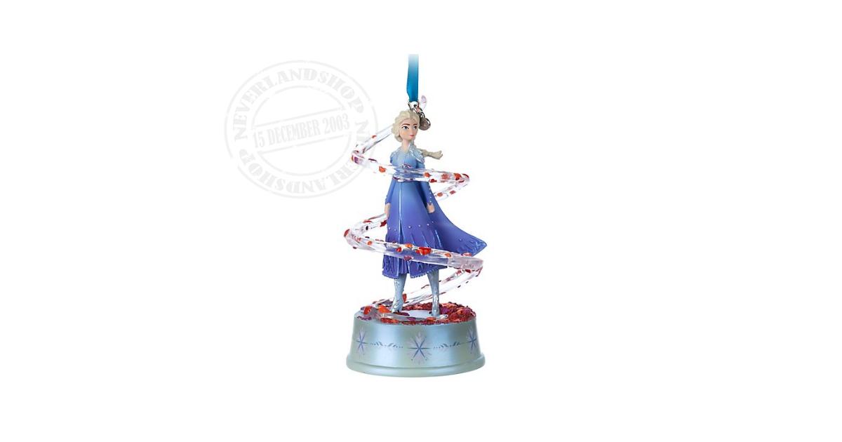8992 Singing Ornament - Elsa