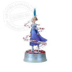 8992 Singing Ornament - Elsa