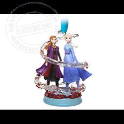 8993 3D Ornament - Anna & Elsa