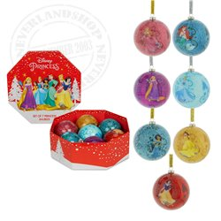 7 Shatterproof Ornaments - Princess