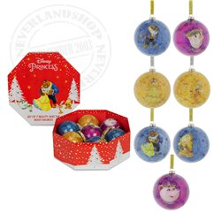 7 Shatterproof Ornaments - Beuaty & the Beast