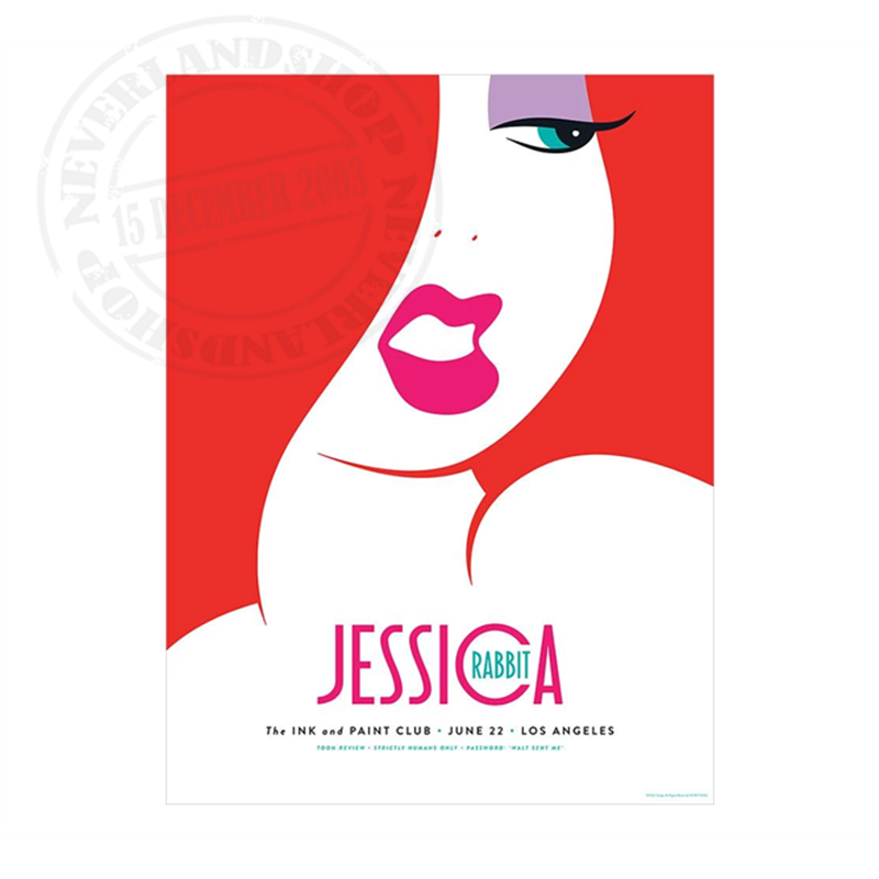 On Paper - Jessica Rabbit