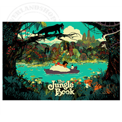 Litograph - The Jungle Book