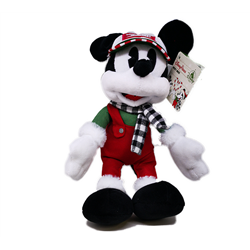 DisneyStore Christmas Plush Chalet - Mickey