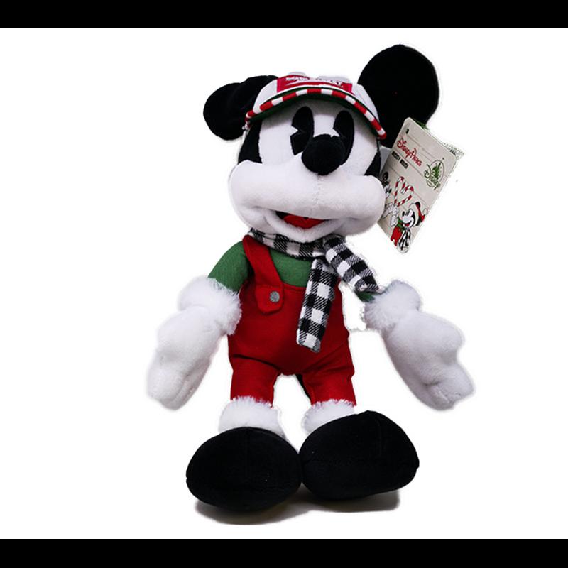 DisneyStore Christmas Plush Chalet - Mickey