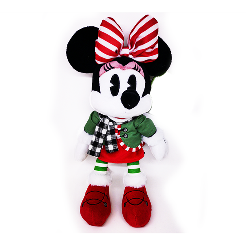 DisneyStore Christmas Plush Chalet - Minnie