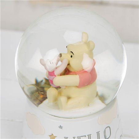 Magical Beginnings Snowglobe - Pooh & Piglet