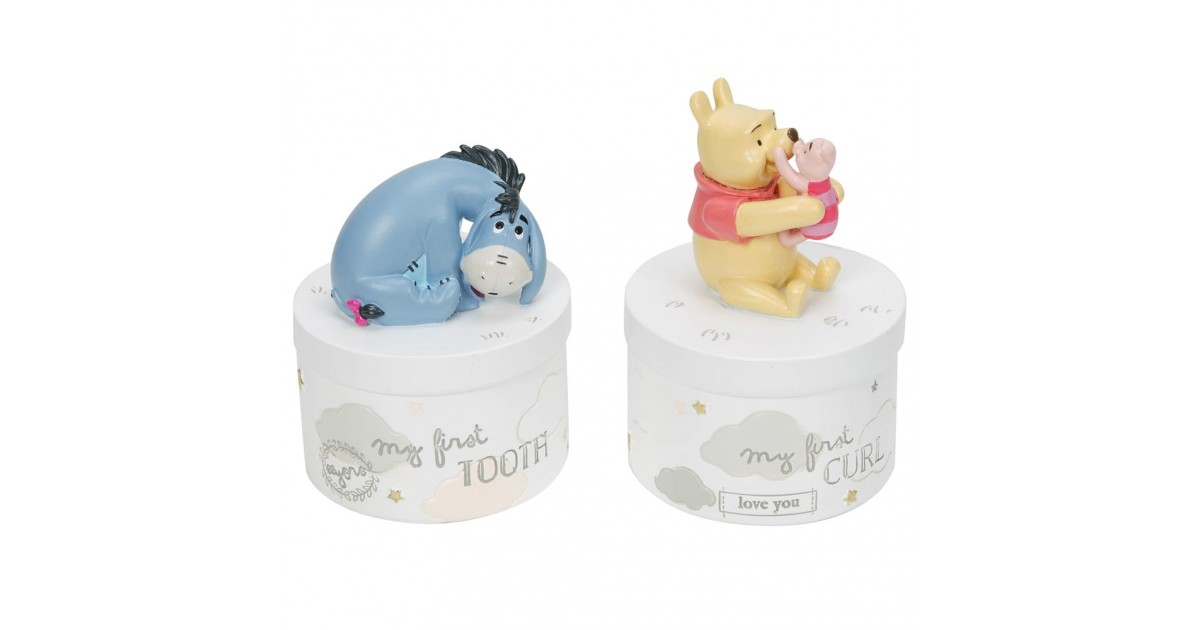 Magical Beginnings Tooth & Curl Pots - Pooh & Co
