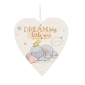 Magical Beginnings Heart Plaque \'Dream Big\' - Dumbo