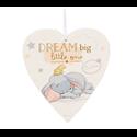 Magical Beginnings Heart Plaque \'Dream Big\' - Dumbo