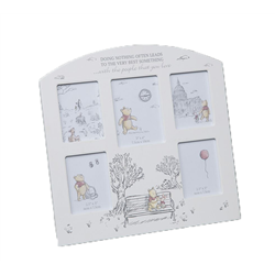 Christopher Robin Arched Collage Frame - Pooh