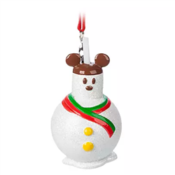 9011 Snowman Treat Ornament - Mickey