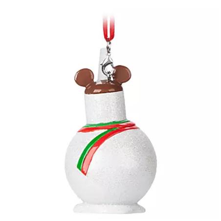 9011 Snowman Treat Ornament - Mickey