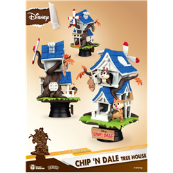 Diorama Tree House - Chip & Dale