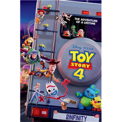 Antique Shop Anarchy Poster - Toy Story