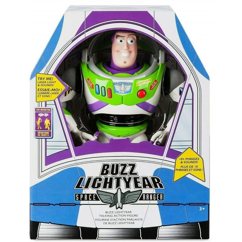 Disney Store Talking Buzz Lightyear - Toy Story