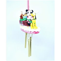 9002 WindCharm Ornament - Mickey