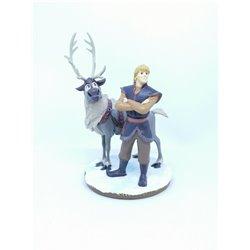 Small Figurine - Sven & Kristoff