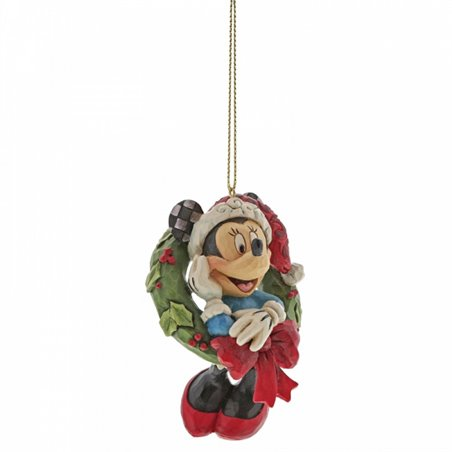 3D Ornament Christmas Wreath - Mickey