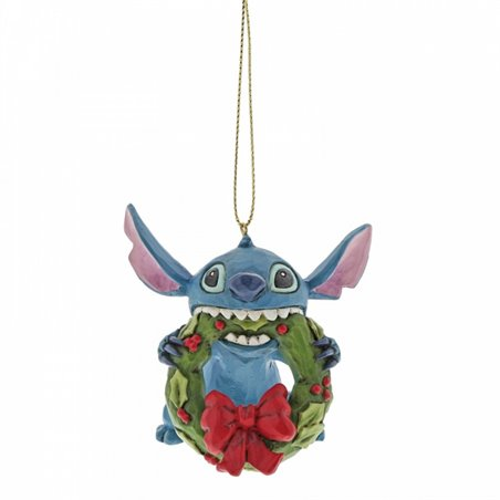 3D Ornament Christmas Wreath - Minnie