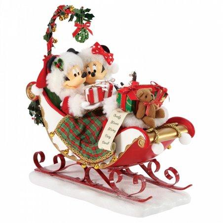 Sleigh Bells and Mistletoe - Mickey & Minnie