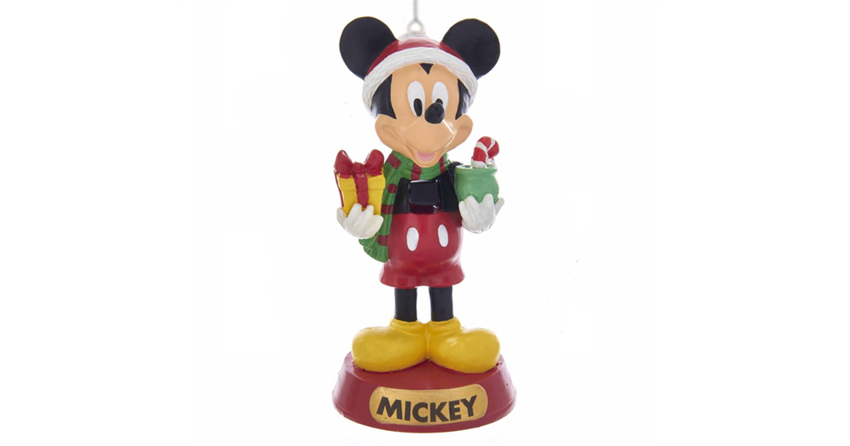 Nutcracker with Gifts Ornament - Minnie