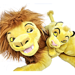 Disney Store Plush Together - Mufasa & Simba