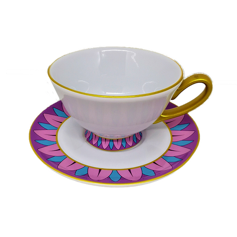 Cup & Saucer - Mrs Potts & Chip