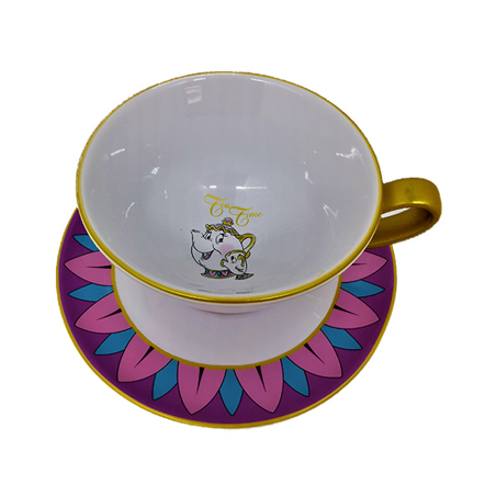 Cup & Saucer - Mrs Potts & Chip