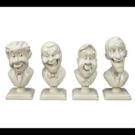 4dlg Set Singing Bustes - Haunted Mansion